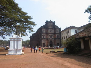 Old Goa Basilica of Bom Jesus