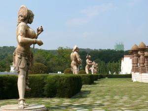 Ramoji Film City statues