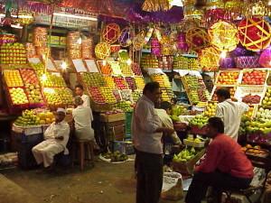 Crawford market Mumbai India