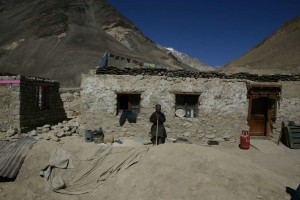 a house in leh ladakh