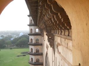 Gol Gumbaz walls