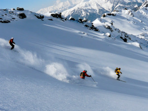 Kullu Manali Skiing