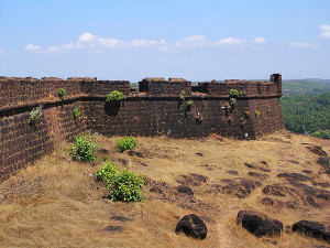 Chapora Fort Goa Forts in Goa