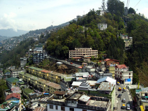 Gangtok city view Places to visit in Gangtok - Gangtok Sightseeing