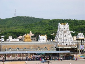 Lord Sri Venkateshwara or Balaji Temple Anantagiri hill station