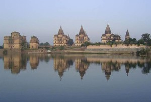 Orchha river view Orchha travel guide - Orchha tourism