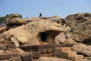 khandagiri broken hills Khandagiri Caves Orissa