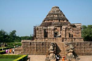 konark sun temple Tourist places in Orissa