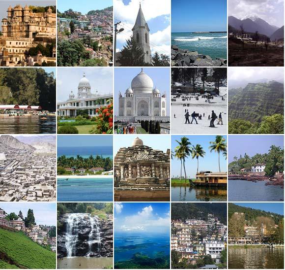 16travel Top 4 Honeymoon Destinations in India