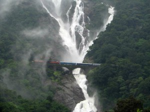 Dudhsagar Waterfalls -Goa