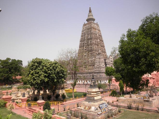 Mahabodhi temple, Bodh Gaya, Bihar-88980
