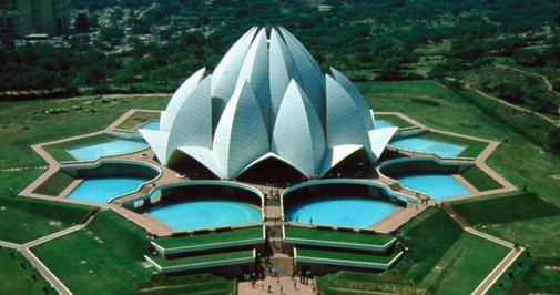 Bahai-TempleLotus-Temple-Delhi-India