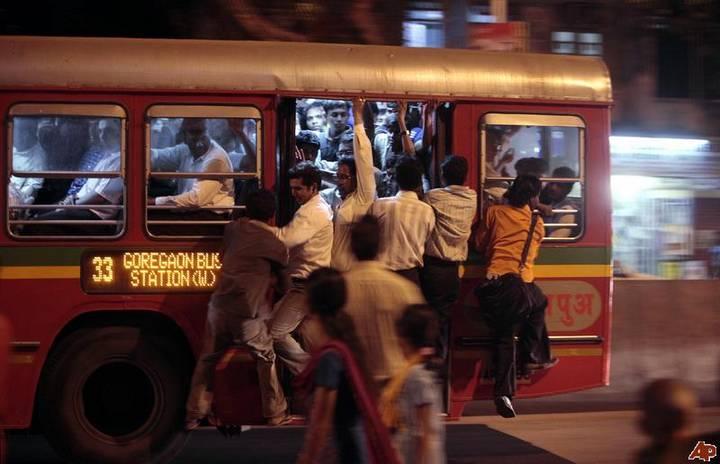 Indian-public-bus
