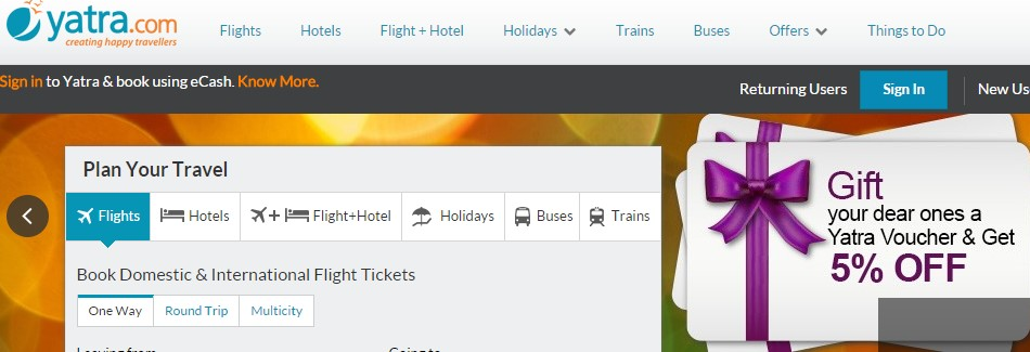 yatra hotels