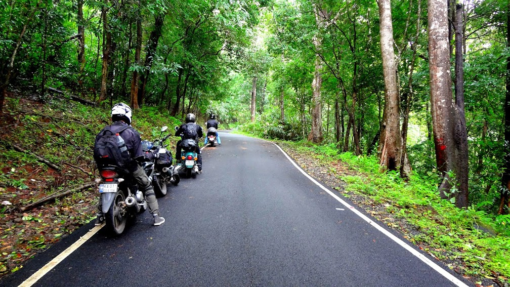 Valparai and the Vazhachal Forest ride