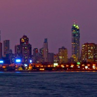 Mumbai Skyline at Night Get to know more about the best places to visit in India