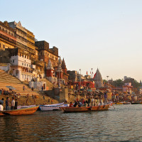Varanasi ghat view Get to know more about the best places to visit in India