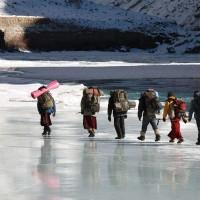 "Zanskari locals Chadar Trek The must-visit ""coolest"" holiday destinations in India this summer"