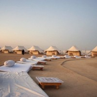 camping 20in 20desert Arguably the best honeymoon places in India in January