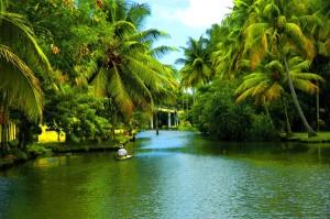 Backwaters of Alappuzha in Kerala1 Honeymoon in Mahabaleshwar