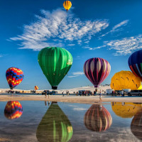 Top 10 Hot Air Ballooning new mexico Photo by Dave Shultz 980x632 Adventure activities in India that will pump you up