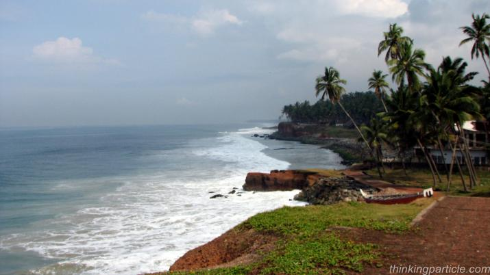 Varkala-Kappil beach walk