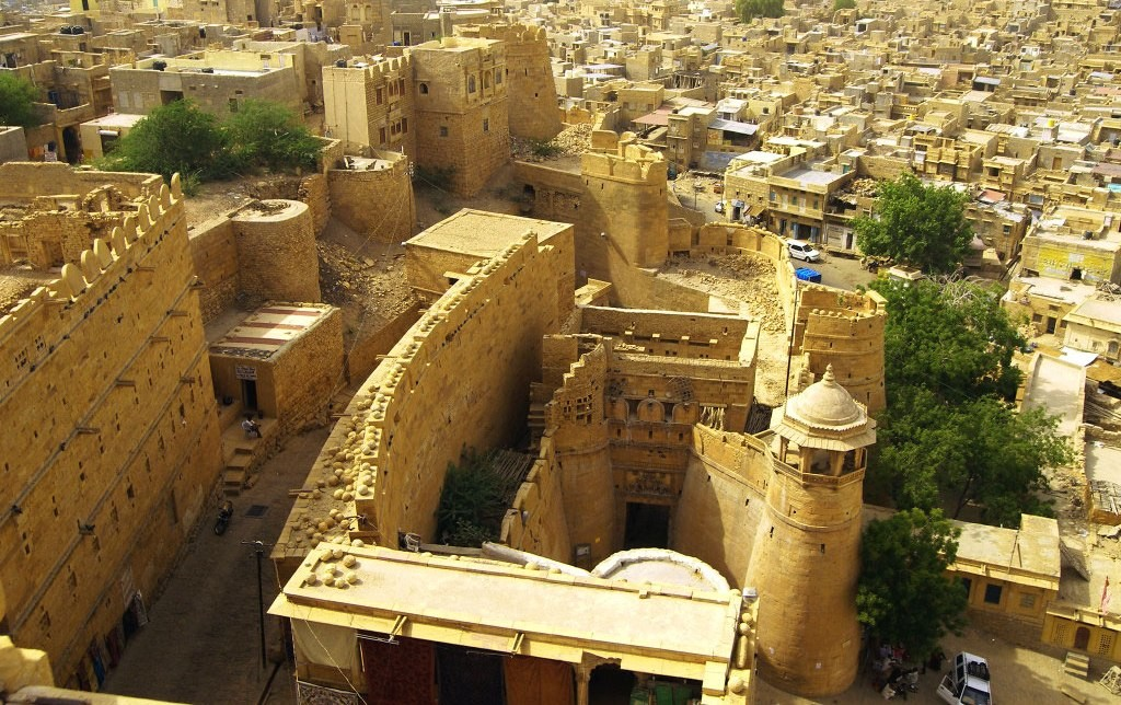 jaisalmer-fort-city-view