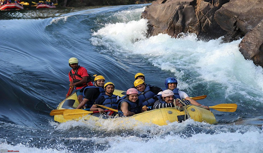 kali rafting It's time for some fun with adventure tourism in South India