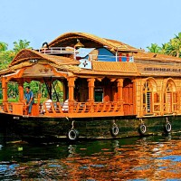 Houseboat Trip alappuzha Kerala Backwater Cruise Upper Deck Inside 30 things do to after turning 30 in India
