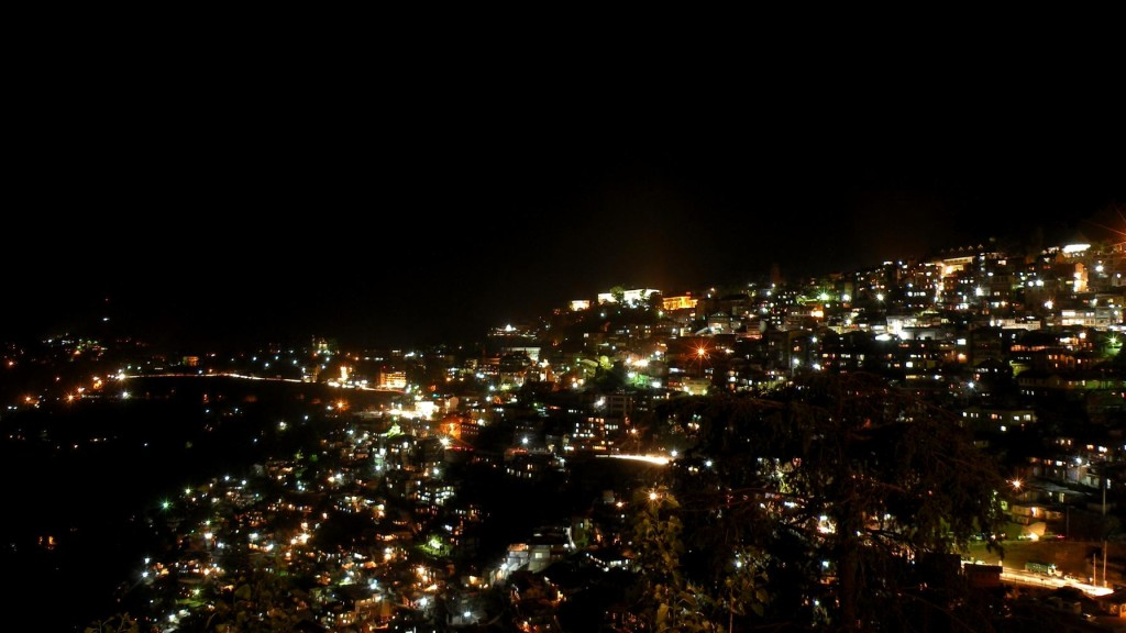 Shimla-Night-View