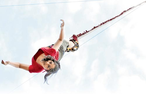 Bungee-ride