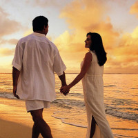 couple walking on beach at havelock A few really romantic honeymoon destinations in India