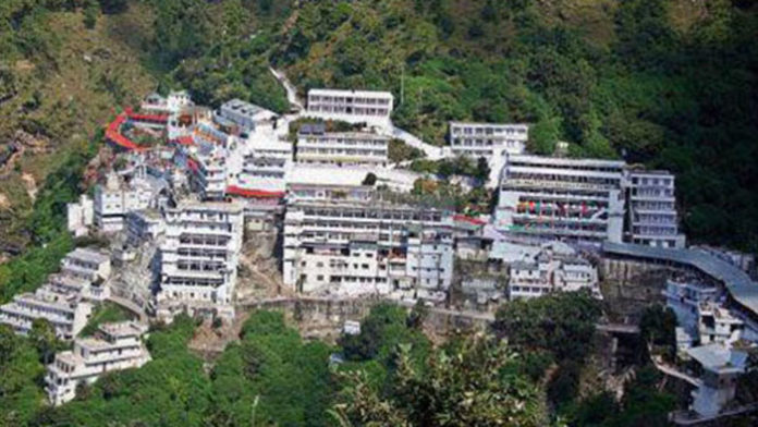 Vaishno Devi temple 696x392 1 Ten famous temples of India