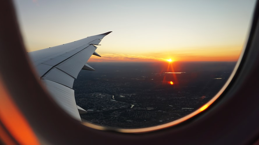 view from air 12 Life-Saving Tips for Your First Flight Journey