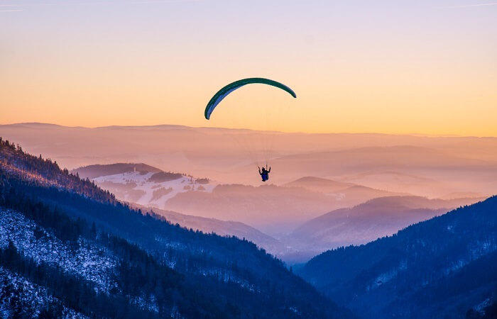 Cover For Gangtok Paragliding Best weekend destinations in India