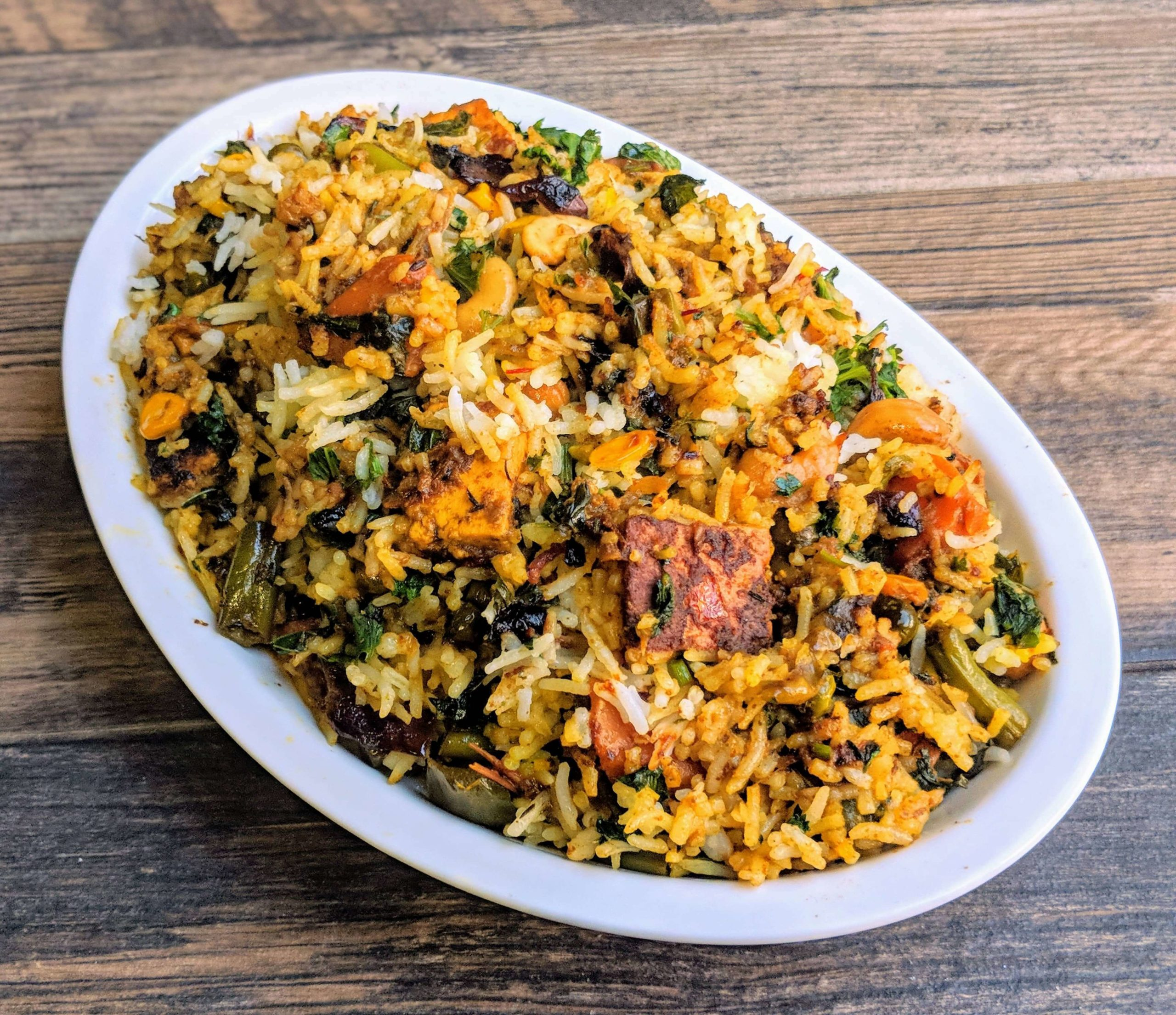 malabar biriyani vege cravings scaled 13 Lip-Smacking Vegetarian Dishes Of Kerala To Give You A Visual Treat